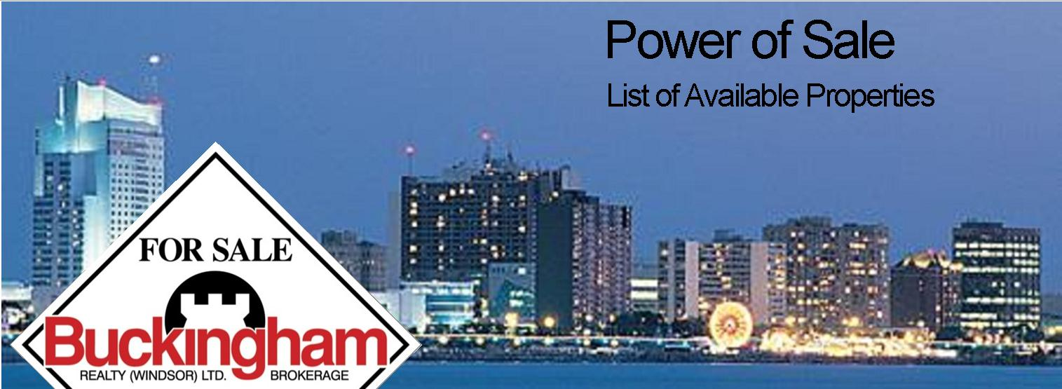 Power of Sale Current List
